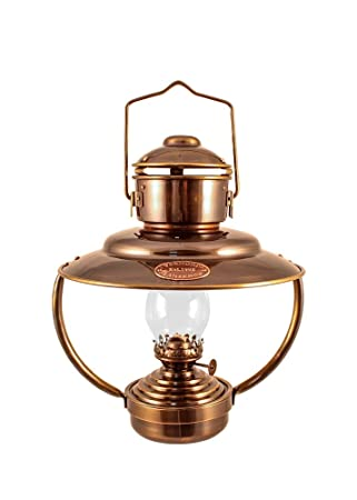 Amazon.com: Vermont Lanterns - Brass Trawler Nautical Hanging Oil ...