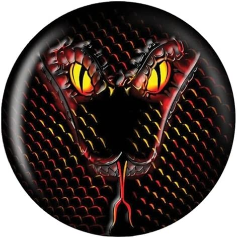 Snake Glow Viz-A-Ball Bowling Ball