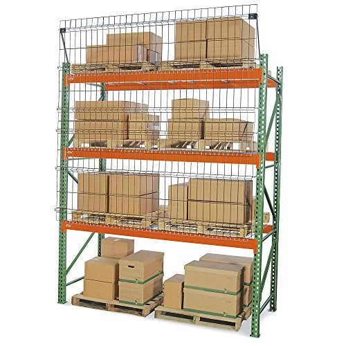 "Husky Aisle Shield Pallet Rack Guard - 144X60"" - Black"