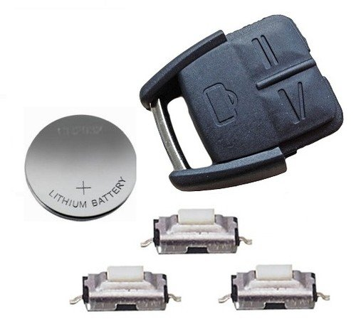 DIY Repair kit for Vauxhall Opel Vectra Omega remote key refurbishment
