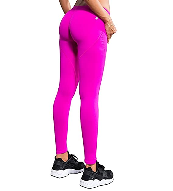 ba8394dad7e12 Lxmn Yoga Pants Women's Sexy Push Up Work Out Leggings Tights Fitness Running  Gym Slim Compression