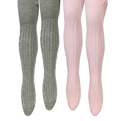 Wrapables Cable Tights Toddler Girls