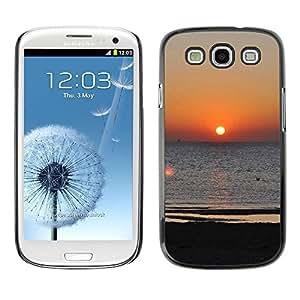 LECELL -- Funda protectora / Cubierta / Piel For Samsung Galaxy S3 I9300 -- Aegean sunset --