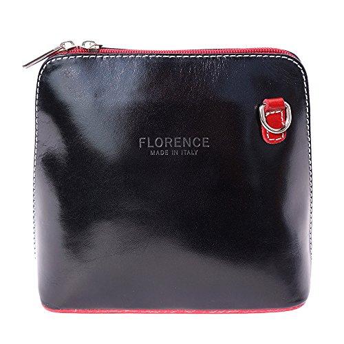 noir Petit Leather 201 bandoulière Sac Market Florence à rouge PCEw0qq