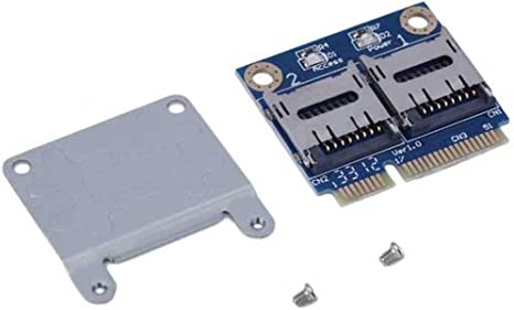 Memory Card Reader Adapter SD SDHC SSD to Mini PCI-e High Speed Data Transfer