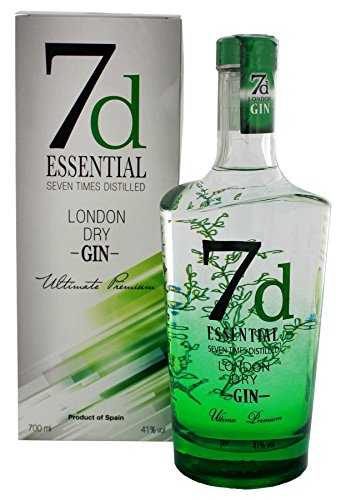 7d Essential London Dry Gin (1 x 0.7 l)