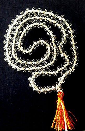 Buy Divya Shakti Sphatik Mala/Crystal Quartz Mala - Surat