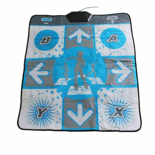 DDR X-treme Dance Revolution PAD Non-Slip Dancing Step PC USB Dance Mat Mats Pads for Nintendo (Xtreme Dance Pad)