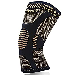 Copper Knee Brace for Arthritis Pain and Support-Copper Knee Sleeve Compression for Sports,Workout,Arthritis Relief…