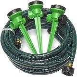 Melnor 80267GT Green Thumb Pattern Stationary Sprinkler and Hose Kit