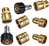 Pressure Parts 1526173 M22 Ultimate Pressure Washer 3/8'' Quick Connect Kit