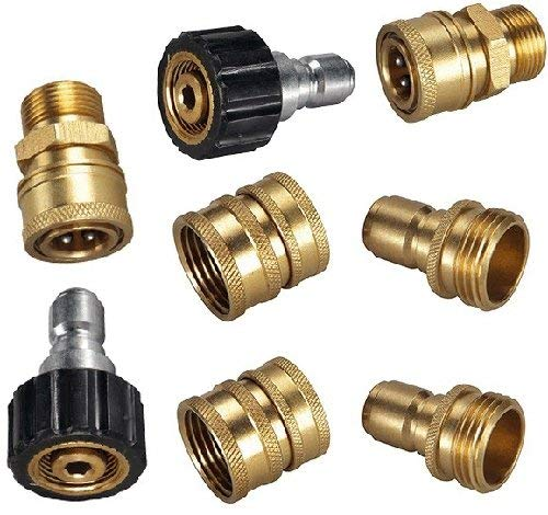 "Pressure Parts 1526173 M22 Ultimate Pressure Washer 3/8"" Quick Connect Kit"