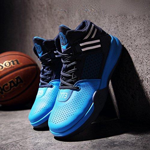 Unisex LFEU Azul Zapatillas adulto altas BwPaq6