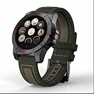 Smart fitness reloj deportivo, monitor de sueño/remoto captura, llamada y mensaje vibración GPS Tracker reloj inteligente ...