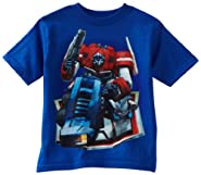 Transformers Boys 2-7 Optimus Prime Bend Tee, Royal