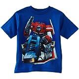 "Transformers ""Optimus Prime"" Blue Kids T-Shirt"