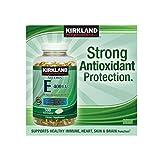Kirkland Signature Vitamin E 400 IU, 500 Softgels each (pack of 6)