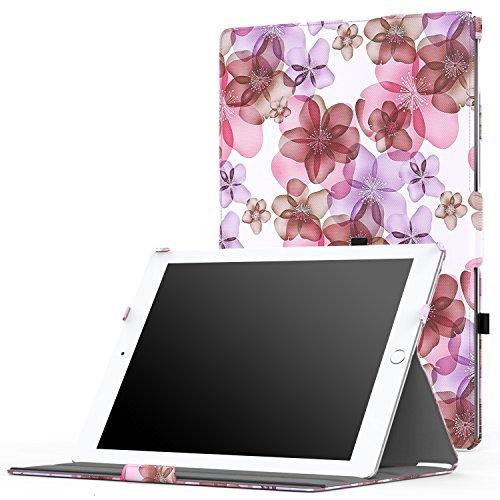iPad Pro 12.9 Case - MoKo Slim-Fit Multi-angle Folio Cover w