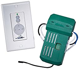 Minka Aire WCS223 Accessory - Three Speed Wall Control System, White Finish