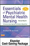 img - for Essentials of Psychiatric Mental Health Nursing-Revised Reprint Text and Elsevier Adaptive Learning Package, 2e book / textbook / text book