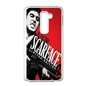 Al Pacino Scarface LG G2 Cell Phone Case White S5595237