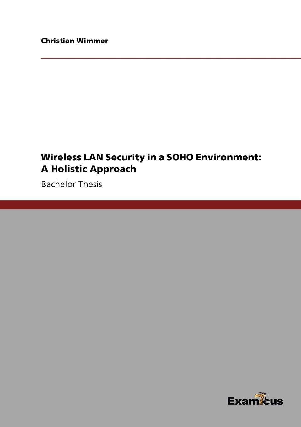 Download Wireless LAN Security in a SOHO Environment: A Holistic Approach pdf