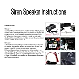 CARMOCAR Car Siren Horn 7 Tone Sound Siren Police