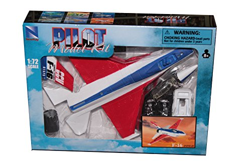 New Ray, modern plane, 1:72 scale, F-16 Fighting Falcon, plastic model, easy kit - F-16 Falcon Game