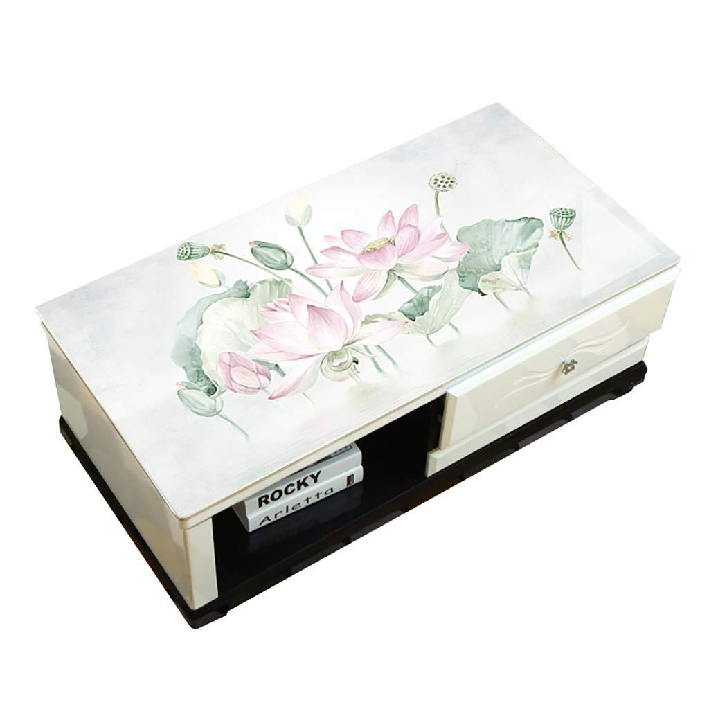 Hongsebuyi Tischdecke PVC Transparent Weichplastik Tischdecke Antifouling Anti-Verbrühung Tee Tischdecke Kaffee Tischdecke Dicke 1,5 MM (größe   70×140 cm) B07MKRN1VG Tischdecken Reparieren     | Vorzugspreis
