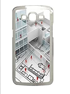 Samsung Galaxy Grand 2 7106 Case and Cover -Scale Model PC case Cover for Samsung Galaxy Grand 2 7106 ¨CTransparent