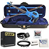 Bunnel EDGE Electric Violin Outfit (Blue)