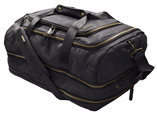 Cocoon MCP3504BK Urban Adventure Convertible Carry-on Travel Backpack with Built-in Grid-IT! Accessory Organizer (Black)