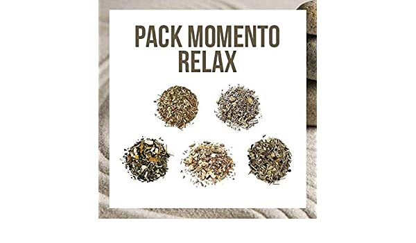 Aromas de Té - Pack de 5 Infusiones Momento Relax - Contiene ...
