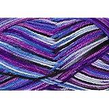 Grundl 755-71 - Ovillo de lana (50 g), multicolor en tonos morados