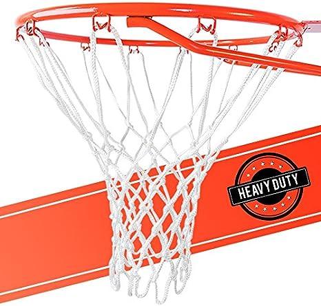 Amazon.com: Red de baloncesto ultra resistente de repuesto ...
