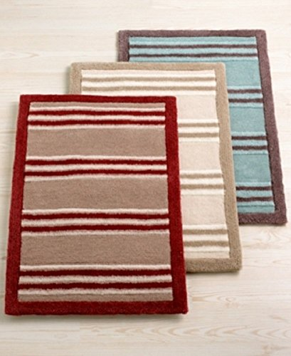 CLOSEOUT! Martha Stewart Collection Carved Acrylic Stripe 26