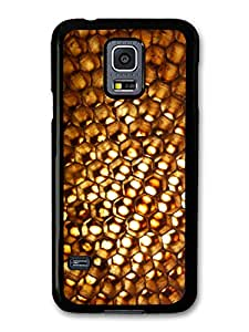 Golden Honeycomb Sunlight In A Cool Hipster Style Design carcasa de Samsung Galaxy S5 mini