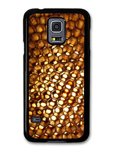 Golden Honeycomb Sunlight In A Cool Hipster Style Design coque pour Samsung Galaxy S5 mini