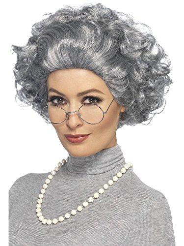 Smiffy's Women's Granny Kit, Grey, One Size