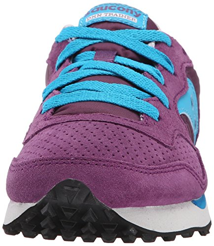 Saucony Originals Damen DXN Trainer Fashion Sneaker Lila-blau