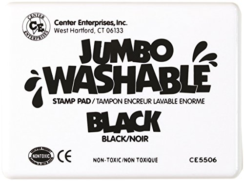 Center Enterprise CE5506 Jumbo Washable Stamp Pad, (Jumbo Castle)