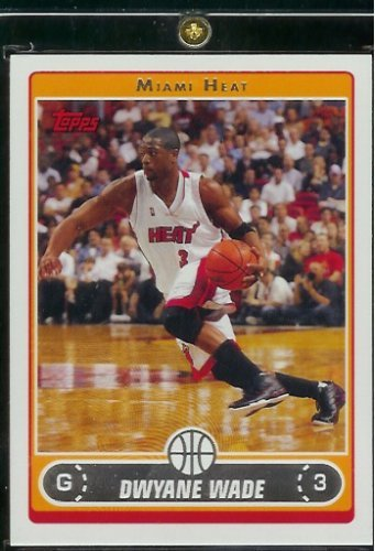 Wade Miami Heat Basketball Card #100 - Mint Condition - Shipped In Protective ScrewDown Display Case! ()