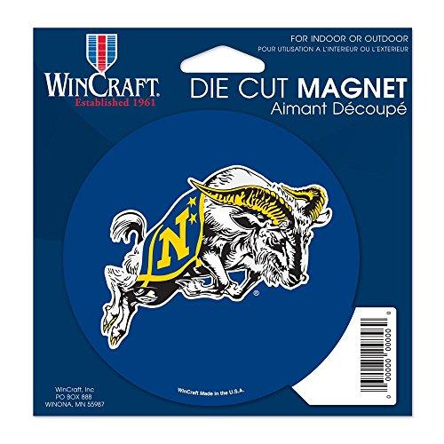 "WinCraft NCAA US Naval Academy Die Cut Magnet, 4.5"" x 6"""