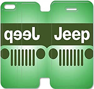 iPhone 5C Cell Phone Case Jeep Car Logo Colorful Printing Leather Flip Case Cover 3RTY499416