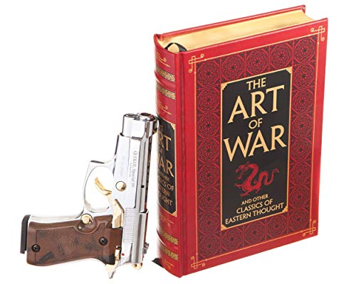 Gun Book Safe - The Art of War by Sun Tzu (Leather-bound) (Magnetic Closure)