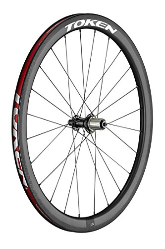 Token Products C45R Resolute Wheels - Full Carbon Clincher 45mm 700C Road Wheelset