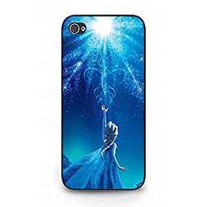 Shiny Style Disney Cartoon Frozen Phone Case for Iphone 5/5s Classical Design Comic Frozen Head Case Fit on Iphone 5/5s