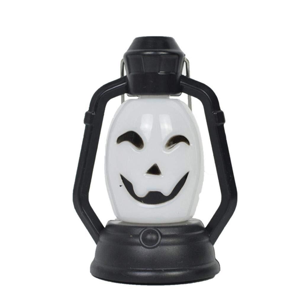 Halloween Light Skull,Lovewe Fashion Halloween Night Light Indoor/Outdoor Party Decor Toy Kids Gift Halloween Decoration (C)