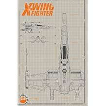 Trends International RP13985 Star Wars The Force Awakens X-Wing Wall Poster