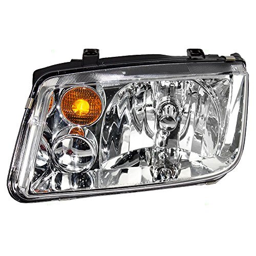 Drivers Halogen Combination Headlight Headlamp Replacement for 02-05 Volkswagen Jetta VW Generation 4 1J5941017BJ AutoAndArt